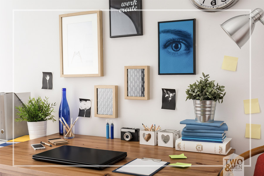8 tips to organize your workspace - home and office cleaning ...