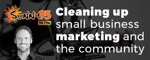 Cleaning up small business marketing and the community